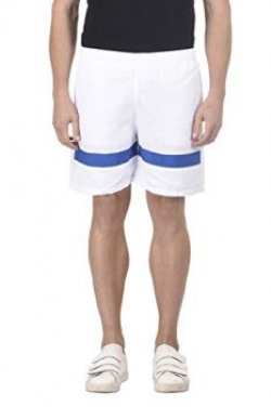 Trendy Trotters White and Blue Sports Short