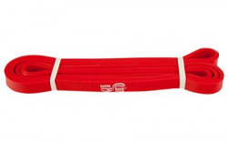 Dittmann DLJR199R Extra Light Rubber Power Band, One Size (Red)