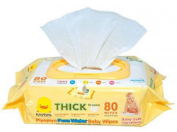 Piyo Piyo Anti-Bacterial Baby Wipes (80 Sheets)