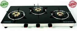 Suryajwala GT03 BB 3 Burner Manual Gas Stove