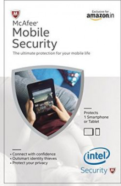 McAfee Mobile Security 1 Device, 1 Year- Product Key (Voucher)