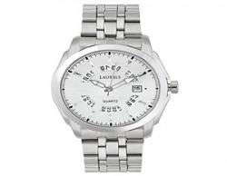 Laurels Aristocrat 5 Analog Silver Dial Men's Watch - Lo-Ast-501
