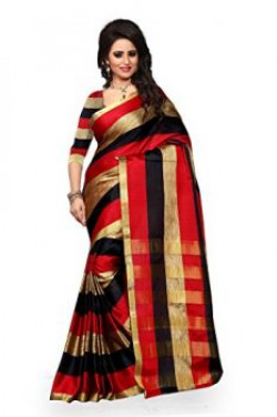 Vatsla Enterprise womens Cotton Multi-Coloured Saree_Free Size_Auracotton001
