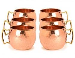 Frestol Handmade Cup Set, 520ml, Set of 6, Brown
