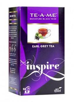 TE-A-ME Standard Earl Grey Tea Pack of 25 Tea Bags