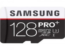 Samsung Pro Plus 128GB Class 10 MicroSDXC Memory Card