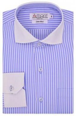 Arihant Men Formal Striped Shirt (AR72510140)