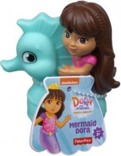 Fisher-Price Nickelodeon Dora and Friends Bath Squirter - Mermaid Dora Bath Toy