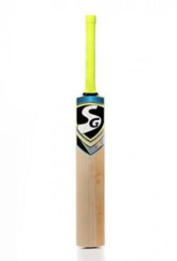 SG Cobra Xtreme English Willow Cricket Bat, Short Handle (Color May Vary)