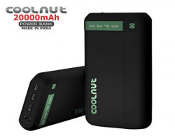 COOLNUT 20000mah Power Bank (Black)