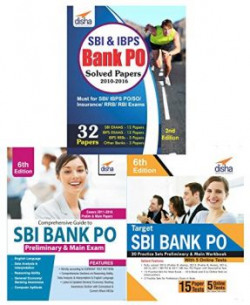 Crack SBI Bank PO for Prelim & Main Exam (Guide/Solved/20 Practice Sets)