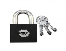 RAMSON Rock Hardend Shackle [ Hardy Quality] Lock With 3 Pin Cylinder keys (50MM)