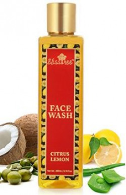 Bliss Tree Citrus Lemon Face Wash with Lemon Fruit Extract and Aloe Vera- Paraben & Sulphate FREE 200ML
