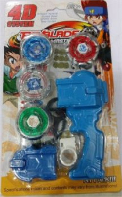 Smilemakers Beyblade 4d System Metal Masters Fury With Handle Launcher