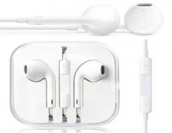 Pink Petal Premium Quality Generic Wired Earpods for Apple Iphones