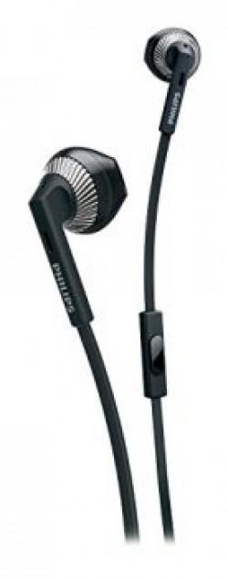 Philips SHE3205BK/00 In-Ear Headphones with Mic (Black)