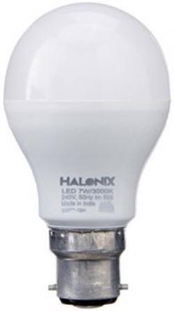Halonix Photon Plus Base B22 7-Watt LED Bulb (Pack of 6, Warm White)