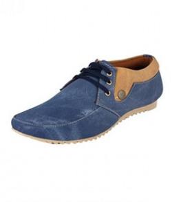 Fucasso Men's Synthetic Blue Casual Shoes - 7UK