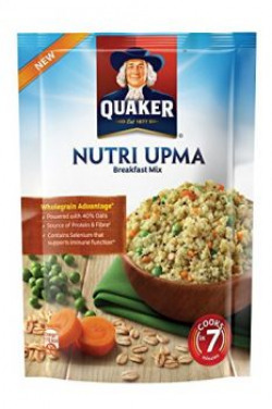 Quaker Nutri Oats Upma Breakfast Mix, 150g