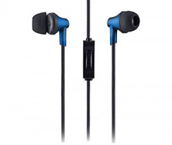 Sound One 616 In Ear Earphones With Mic ,Blue