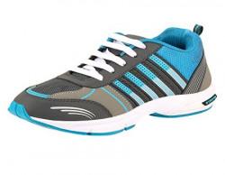 Chevit Men's Running Shoes (Joggers & Sports Shoes) Michal-220-AQ/GRN-8