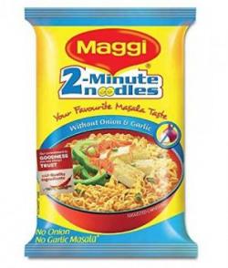 Maggi No Onion No Garlic Noodles, 70g (Pack of 12)