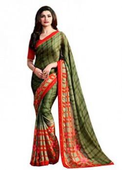 Sarees Shivalika Tex georgette mahendi sarees new collection