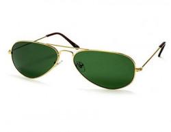 Silver Kartz Quality G-15 Metallic Aviator Sunglasses (wy200)