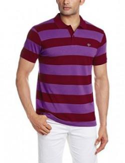 Ruggers Men's Polo (8907242808697_267751727_Medium_Red)