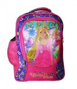 Apnav Pink Baby Doll Waterproof School Bag