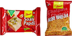 Chandu Deep Utsav Diwali Sweets Gift Pack, 350g