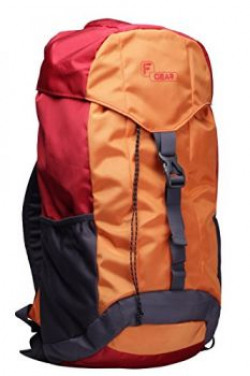 F Gear Tramper Red Orange 30 Liters Trekking Backpack