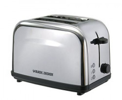Black & Decker ET222 2-Slice Stainless Steel Pop-up Toaster
