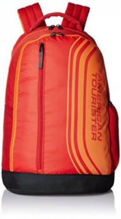 American Tourister 24 Lts Casper Red Casual Backpack (Casper Bacpack 06_8901836135350)