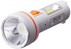 OnLite L0321C 3-Watt Rechargeable LED Torch (Color May Vary)