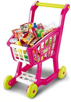 Saffire Supermarket Trolley, Multi Color