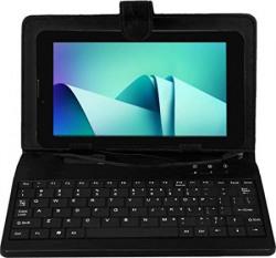 I KALL IK2 (1+8GB) Dual Sim Calling 3G Tablet With Keyboard Black