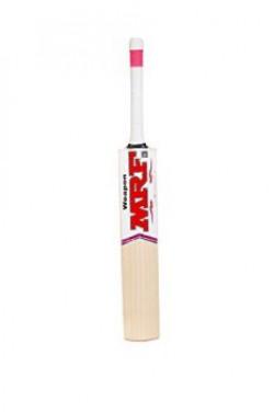 MRF Weapon English Willow Cricket Bat, Short Handle