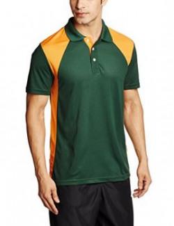 Puma Men's Polo (4051911769018_82745703_Medium_Dark Green)