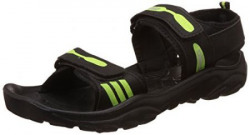 Lotto Black Sandals and Floaters - 7 UK/India (41 EU)