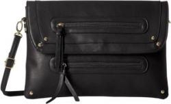 Stella Ricci Women Black PU Sling Bag