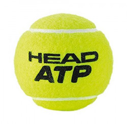 Head ATP Tennis Ball Can (Pack of 3 Balls/1 Can)