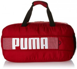 Puma Polyester Scooter and White Gym bag (7380203)