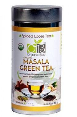 Organic Bay Masala Green Tea, 100 grams