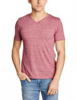 Symbol Men's T-shirt (AW16PLK29_Large_Maroon)