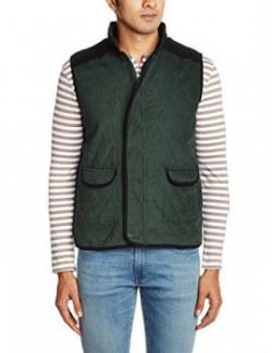 People Men's Cotton Jakcet (8903880908706_P10102118512424_M _Olive)