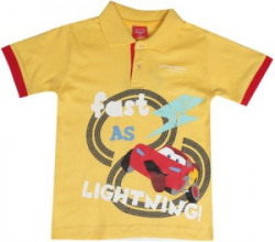Disney Cars Boys Printed Cotton T Shirt