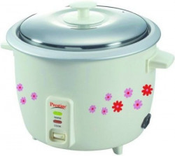 Prestige PRAO Electric Rice Cooker with Steaming Feature