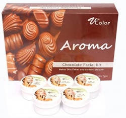 V-Color Aroma Chocolate Facial Kit 270 g (5 Steps)