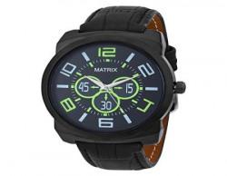 Matrix Analog Black Dial Men's Watch-WCH-177